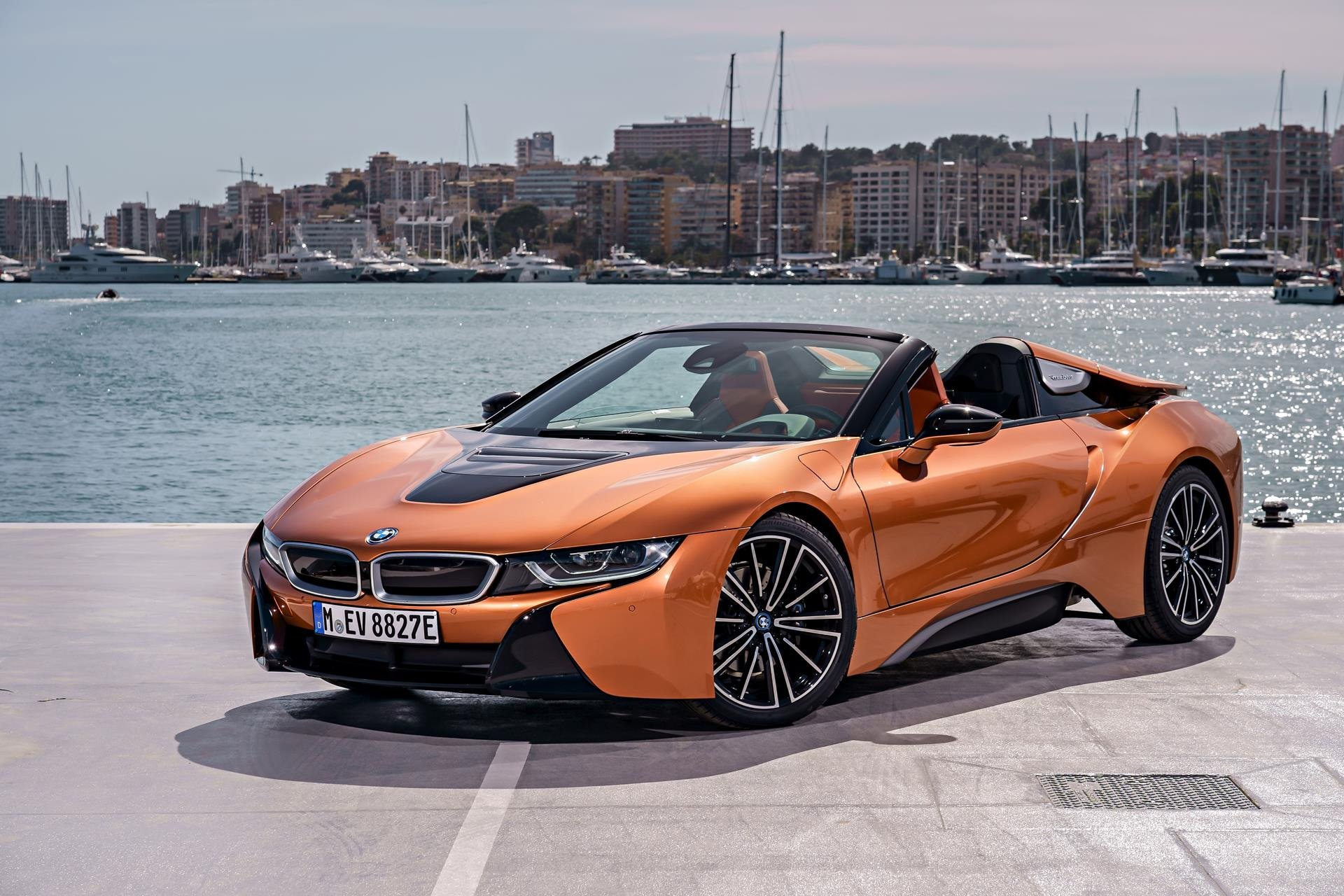New 2019 BMW i8 Convertible for sale $163,300 at M and V Leasing in Brooklyn NY 11223 1