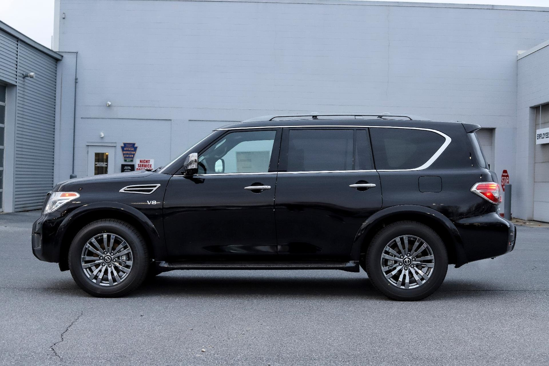 New 2019 Nissan Armada Platinum Platinum for sale $63,330 at M and V Leasing in Brooklyn NY 11223 1