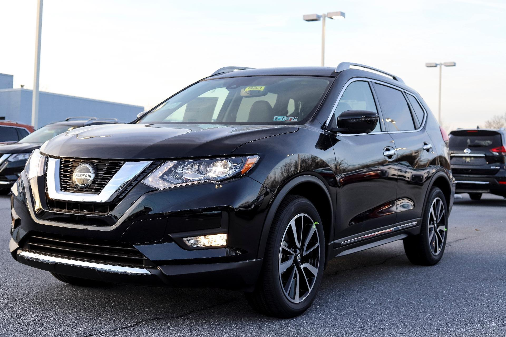 New 2019 Nissan Rogue SV SV for sale $27,790 at M and V Leasing in Brooklyn NY 11223 1