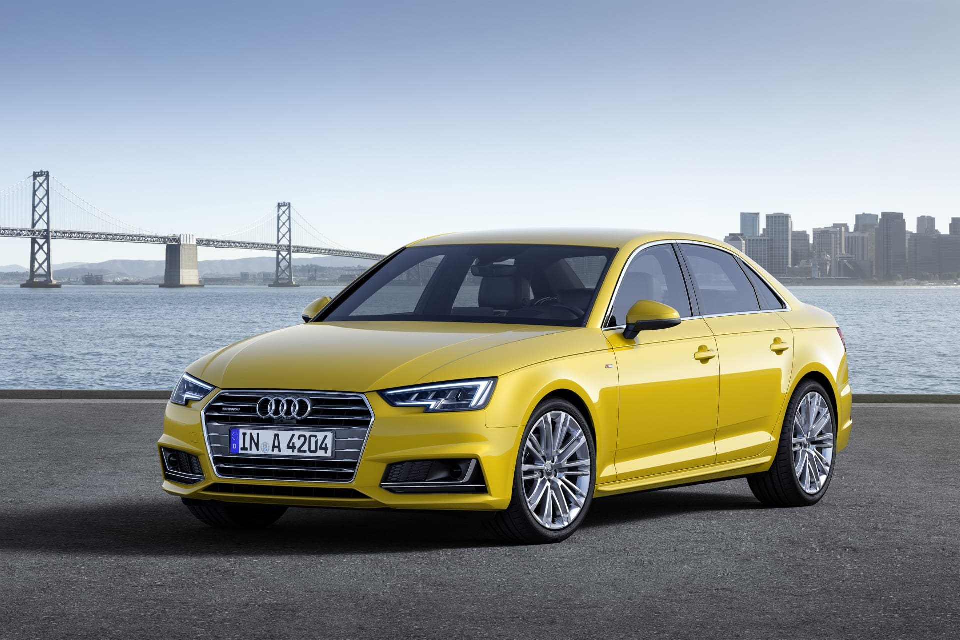 New 2019 Audi A4 2.0T quattro Premium 2.0T quattro Premium for sale $42,000 at M and V Leasing in Brooklyn NY 11223 1