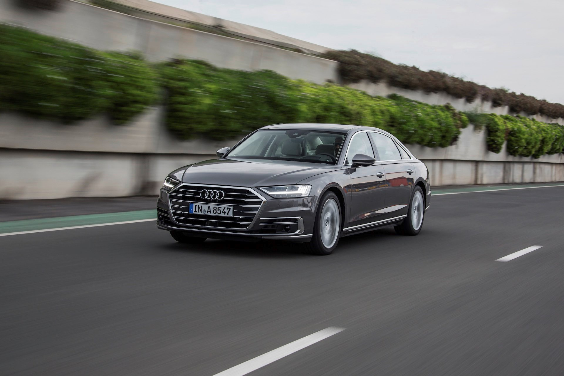 New 2019 Audi A8 L 3.0T quattro 3.0T quattro for sale $83,800 at M and V Leasing in Brooklyn NY 11223 1
