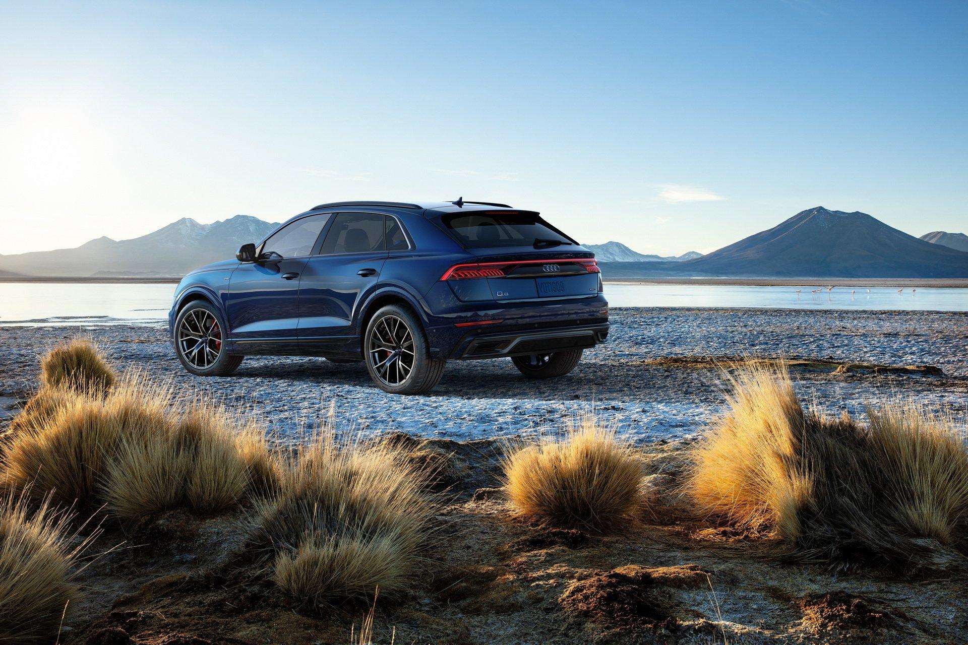 New 2020 Audi Q8 3.0T quattro Premium 3.0T quattro Premium for sale $67,400 at M and V Leasing in Brooklyn NY 11223 1