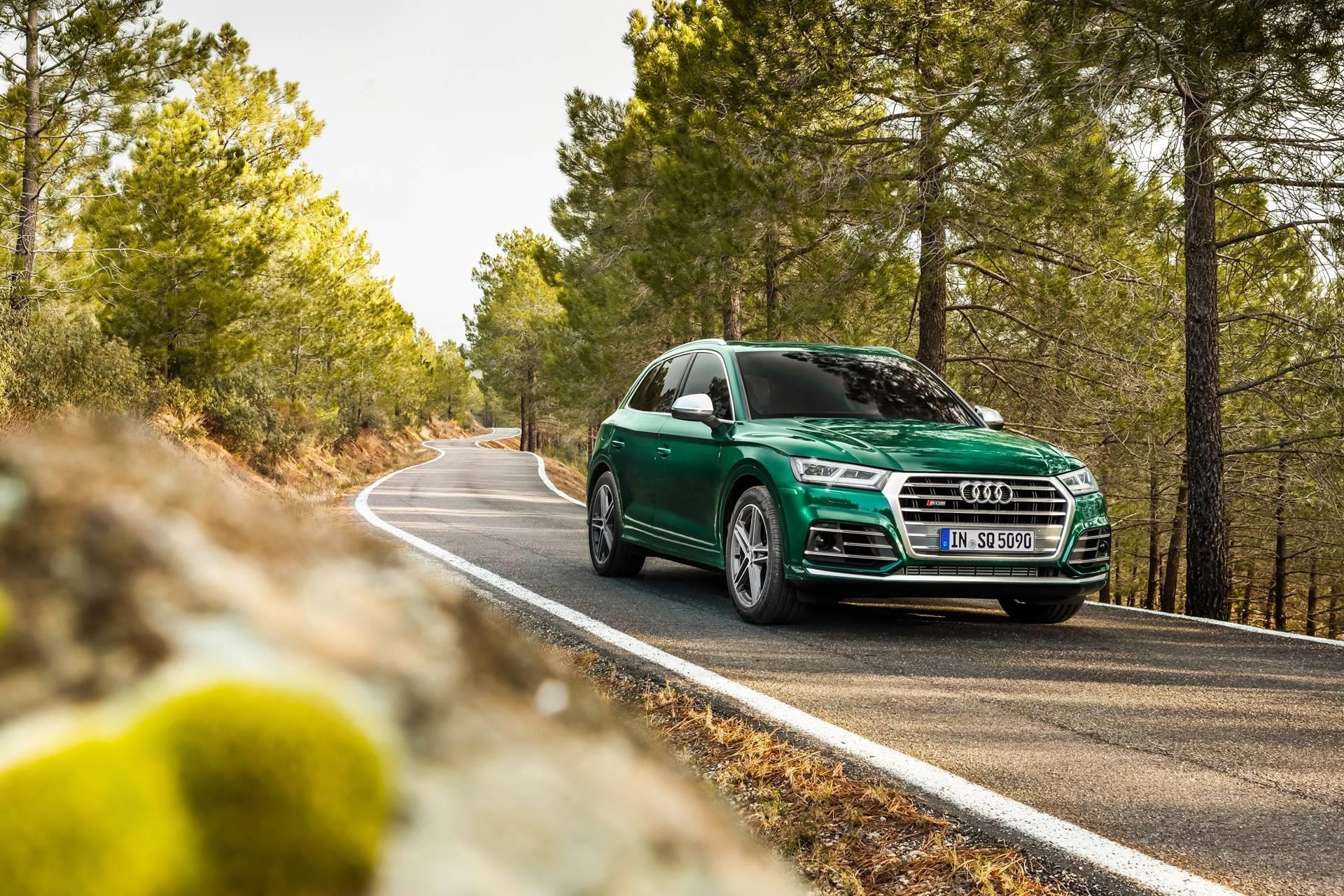New 2019 Audi SQ5 3.0T quattro Premium Plus 3.0T quattro Premium Plus for sale $58,200 at M and V Leasing in Brooklyn NY 11223 1