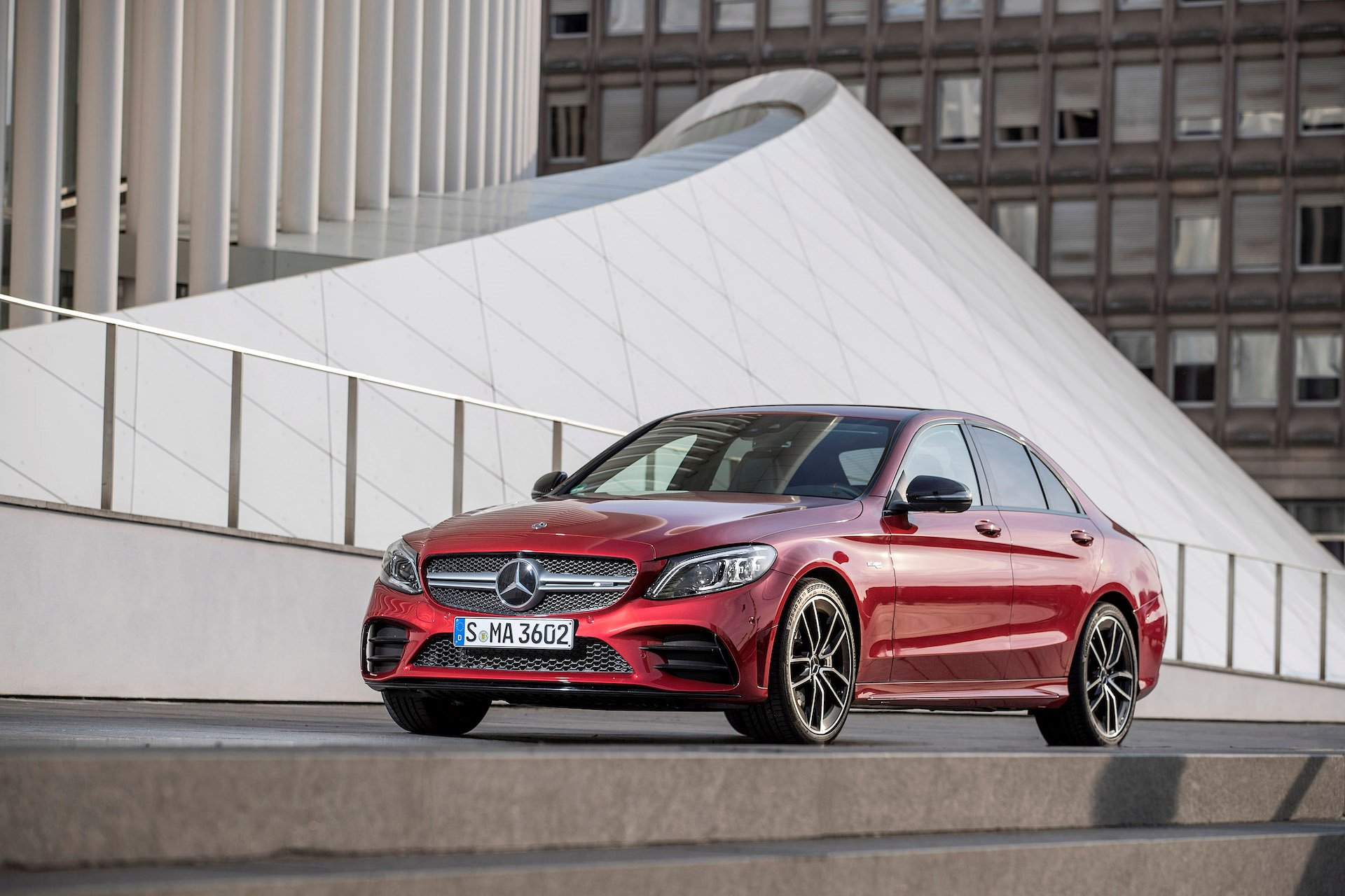 New 2019 Mercedes-Benz C-300 Sedan 4MATIC C 300 4MATIC for sale $43,400 at M and V Leasing in Brooklyn NY 11223 1