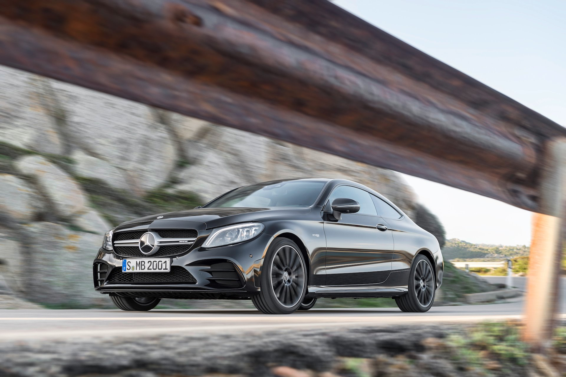 New 2019 Mercedes-Benz C AMG C 63 Sedan AMG C 63 for sale $67,000 at M and V Leasing in Brooklyn NY 11223 1