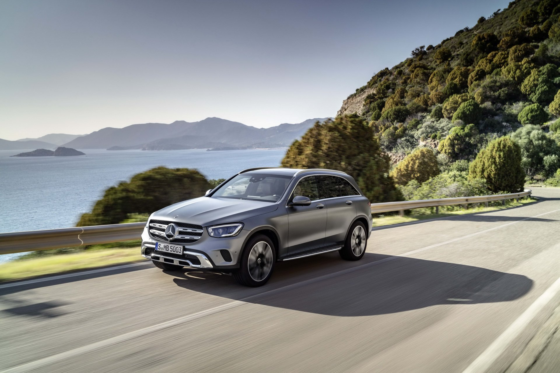 New 2019 Mercedes-Benz AMG GLC 43 AMG GLC 43 for sale $57,000 at M and V Leasing in Brooklyn NY 11223 1