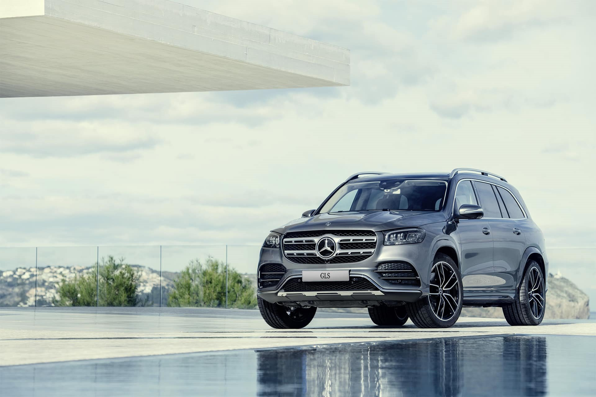 New 2019 Mercedes-Benz AMG GLS 63 AMG GLS 63 for sale $126,150 at M and V Leasing in Brooklyn NY 11223 1