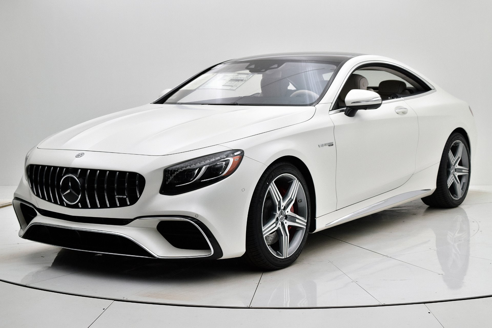 New 2019 Mercedes-Benz AMG S 63 AMG S 63 for sale $149,550 at M and V Leasing in Brooklyn NY 11223 1