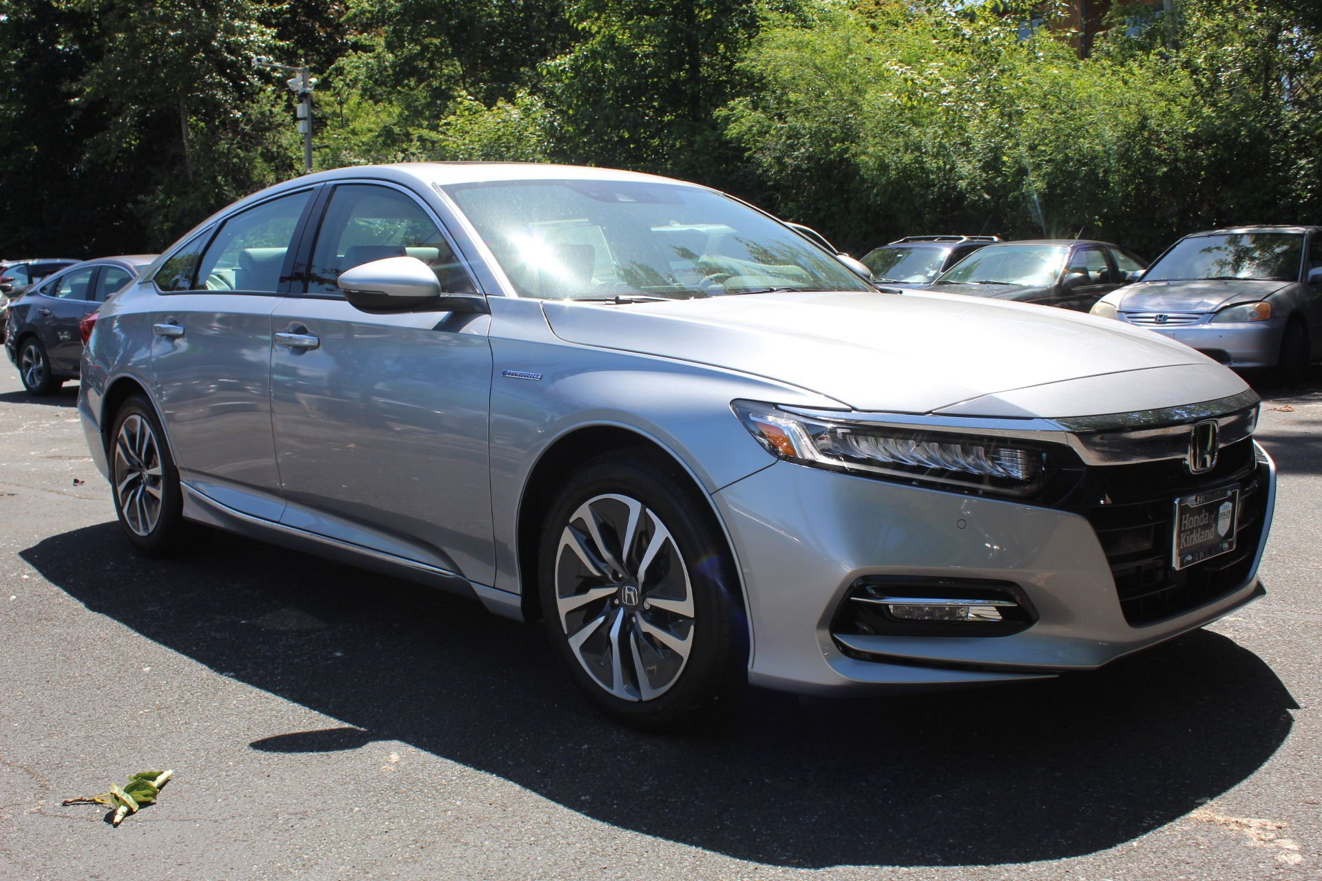New 2019 Honda Accord Hybrid EX Sedan for sale $29,220 at M and V Leasing in Brooklyn NY 11223 1