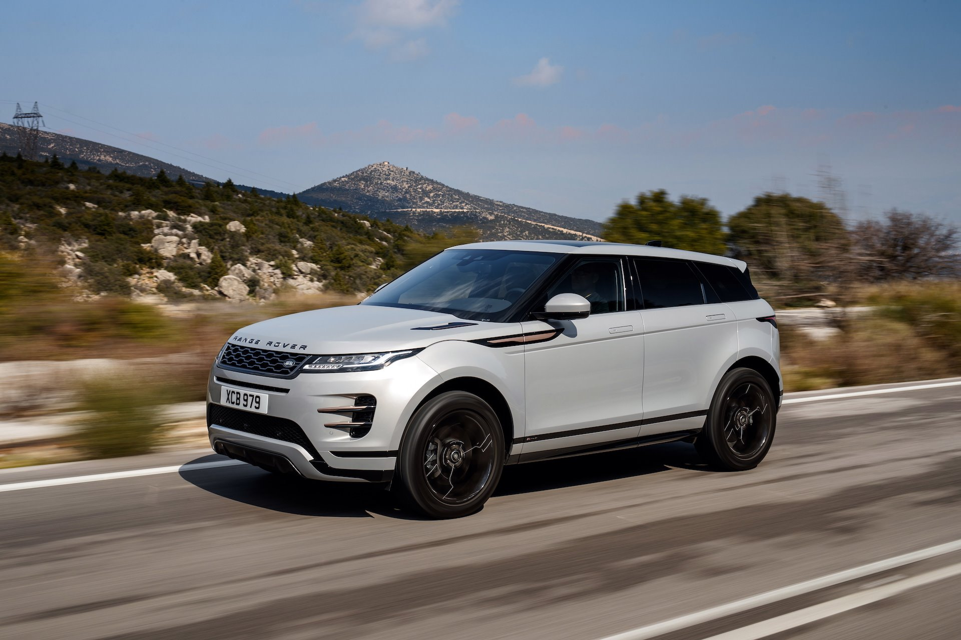 New 2020 Land Rover-Range Rover Evoque SUV Range Rover Evoque R-Dynamic S for sale $46,600 at M and V Leasing in Brooklyn NY 11223 1