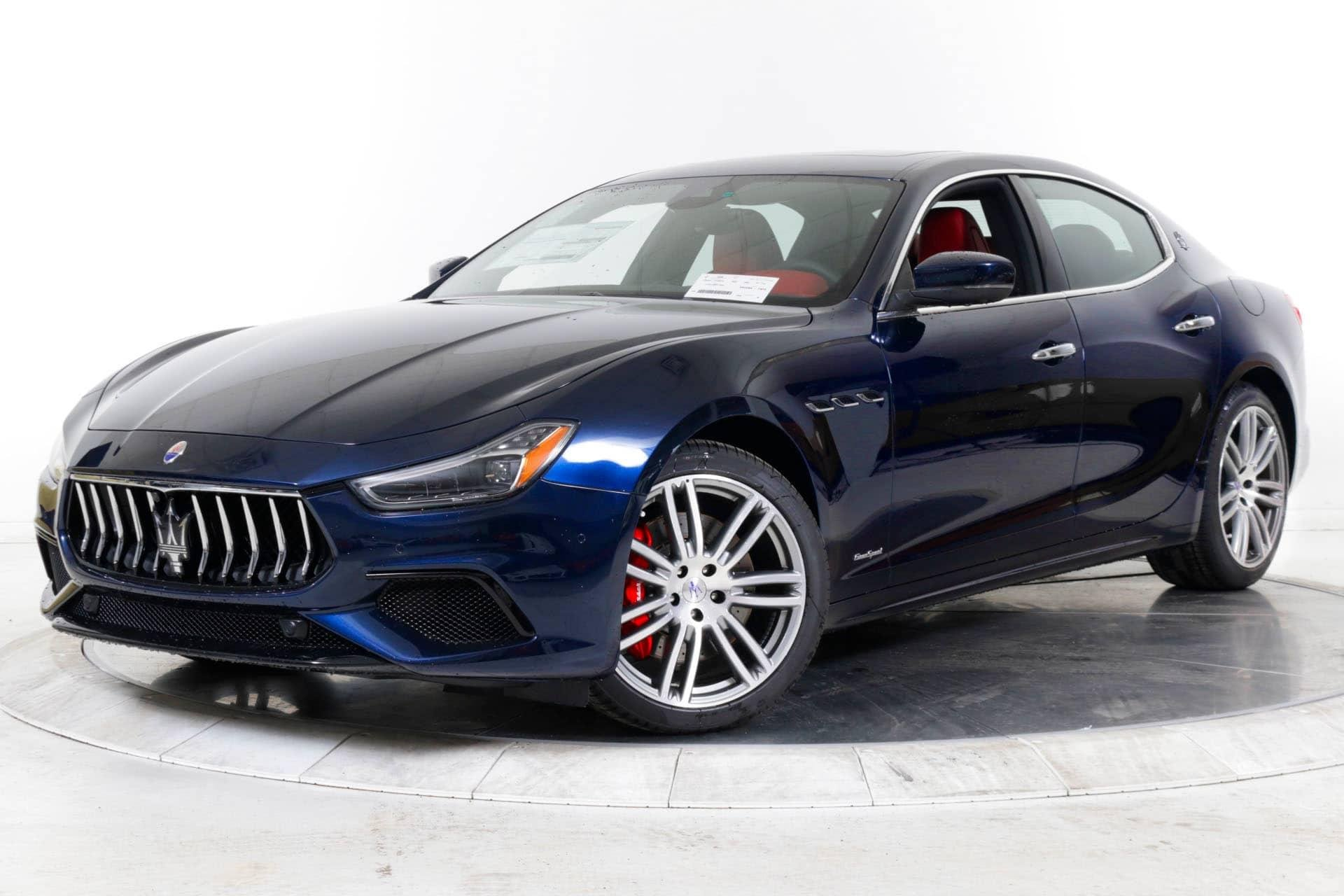 New 2019 Maserati-Ghibli SQ4 Ghibli SQ4 for sale $82,480 at M and V Leasing in Brooklyn NY 11223 1