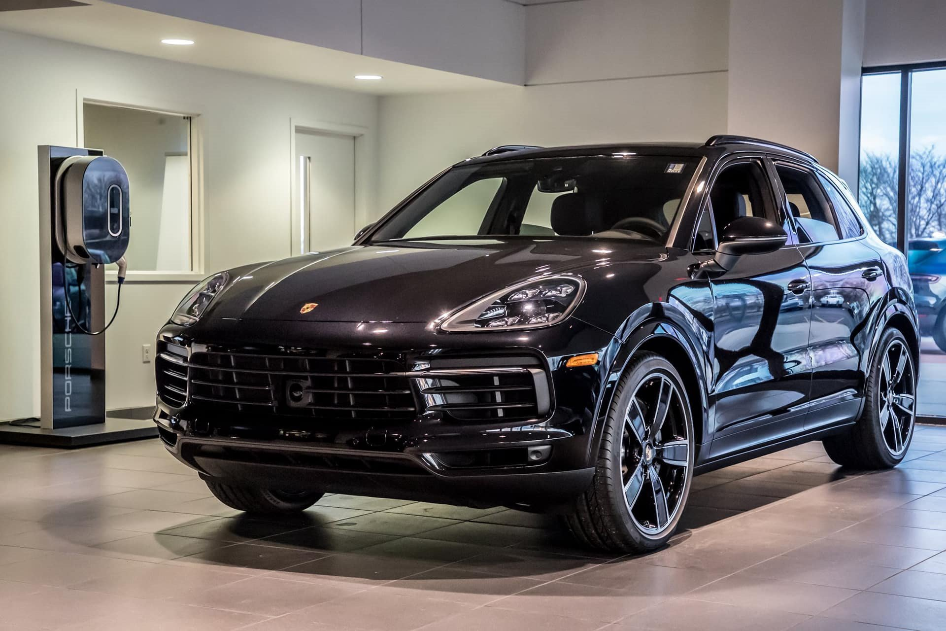 New 2019 Porsche-Cayenne Turbo Cayenne Turbo for sale $124,600 at M and V Leasing in Brooklyn NY 11223 1