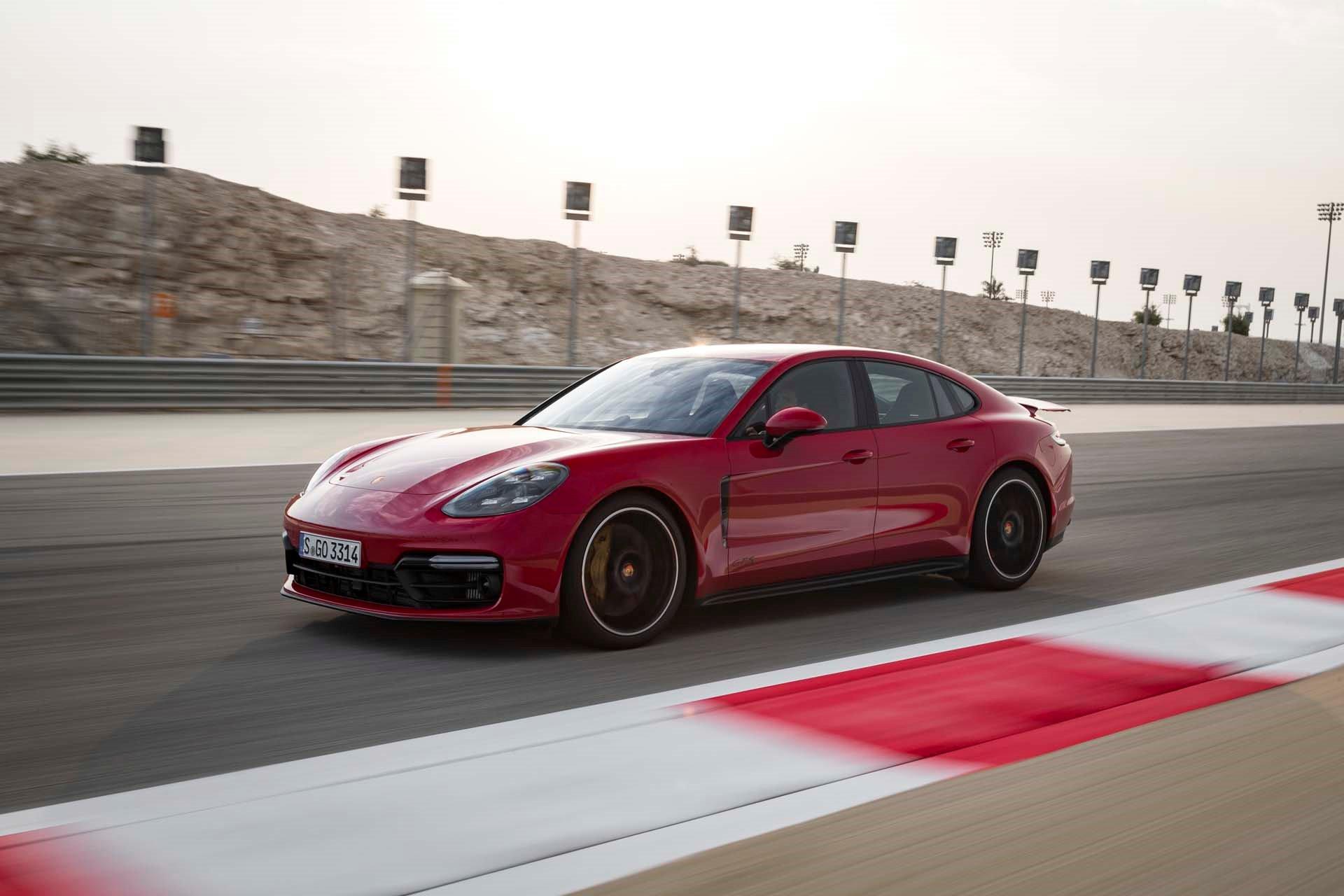 New 2019 Porsche- Panamera Turbo S E-Hybrid Panamera Turbo S E-Hybrid for sale $186,200 at M and V Leasing in Brooklyn NY 11223 1