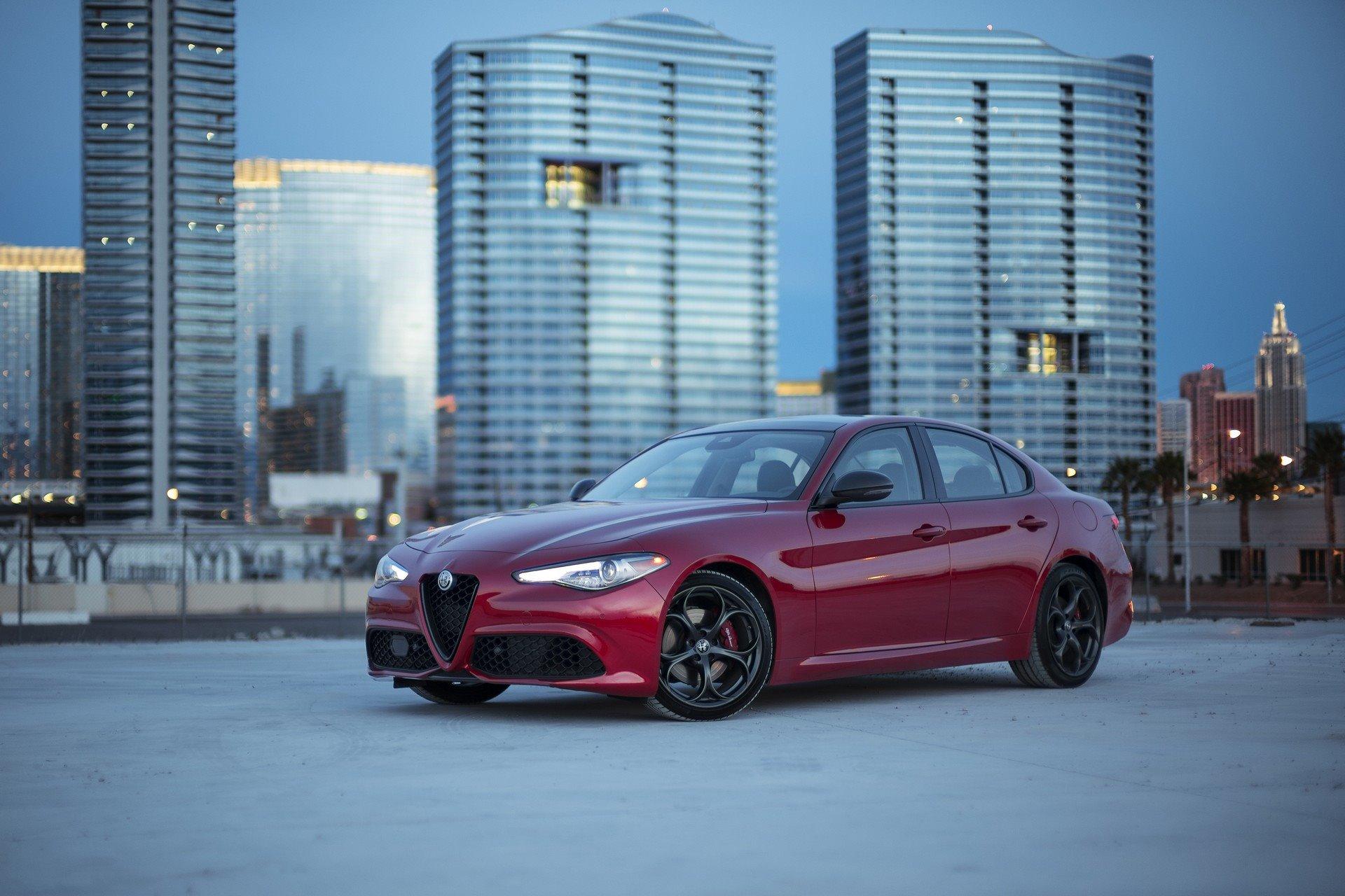 New 2020 Alfa Romeo-Giulia Base Giulia for sale $40,295 at M and V Leasing in Brooklyn NY 11223 1
