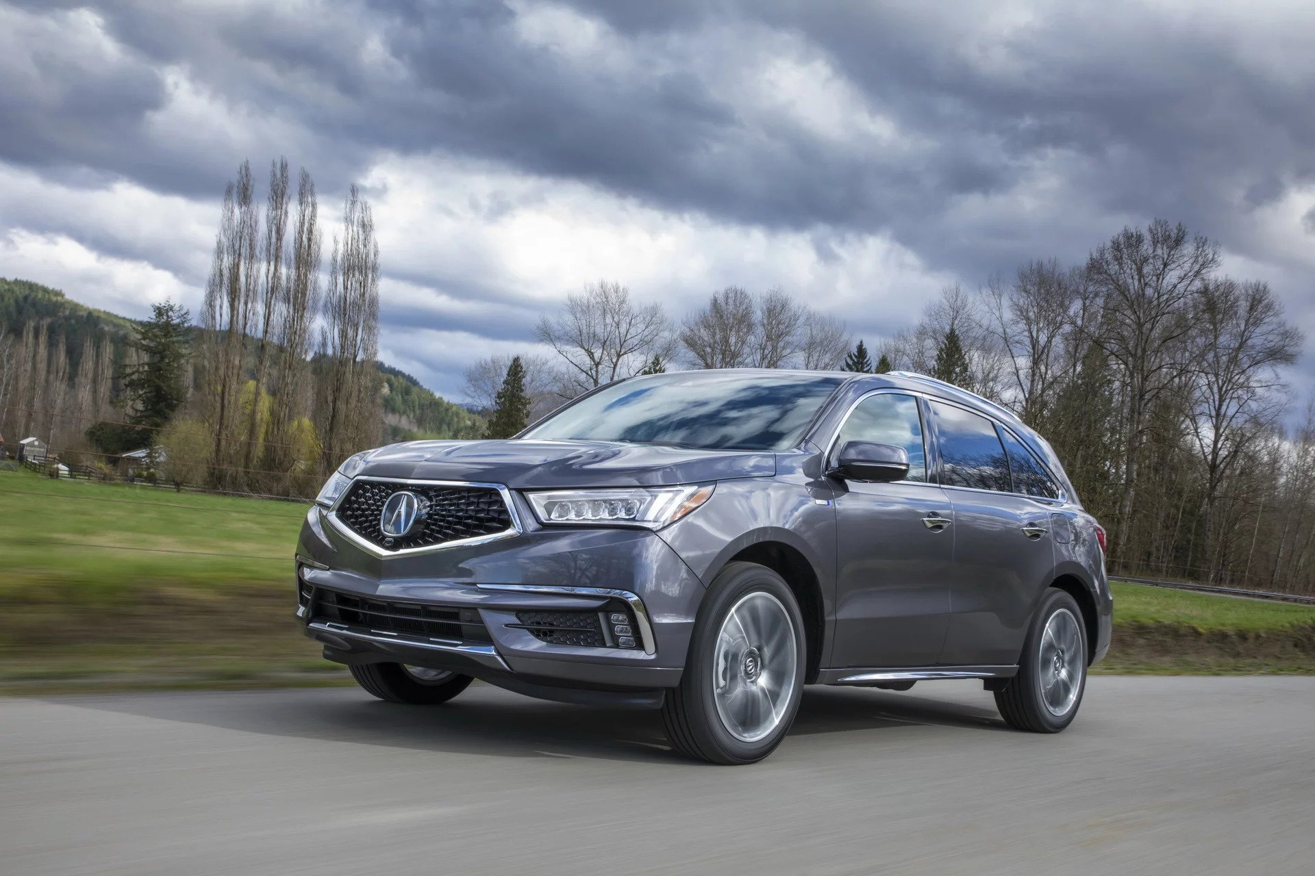 New 2019 Acura-MDX SH-AWD MDX SH-AWD for sale Sold at M and V Leasing in Brooklyn NY 11223 1