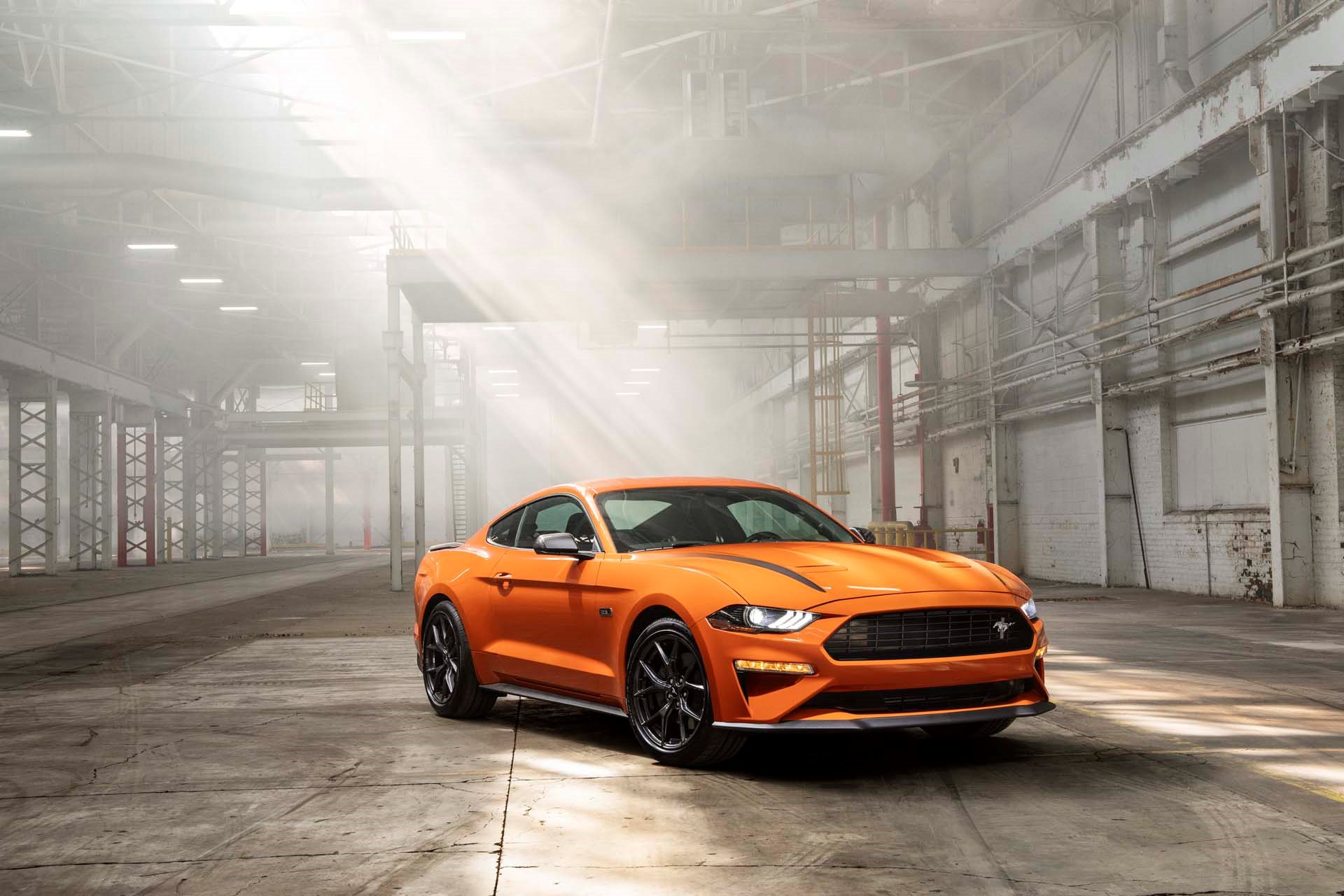 New 2019 Ford-Mustang EcoBoost Mustang EcoBoost for sale $26,395 at M and V Leasing in Brooklyn NY 11223 1