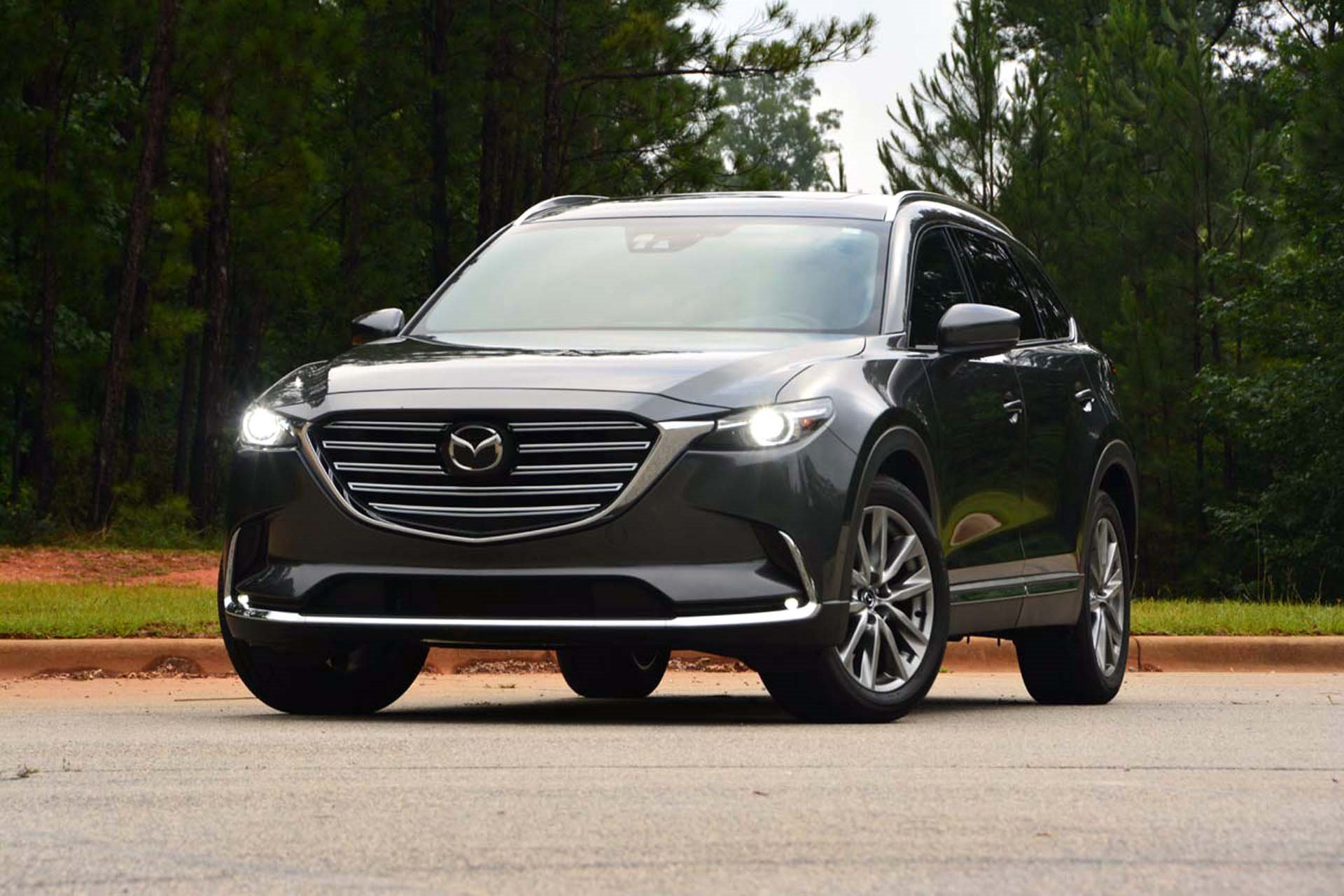 New 2019 Mazda-CX-9 Grand Touring CX-9 Grand Touring for sale Sold at M and V Leasing in Brooklyn NY 11223 1