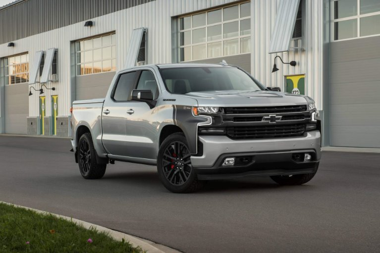 New New 2019 Chevrolet-Silverado 1500 Custom Trail Boss Silverado 1500 Custom Trail Boss for sale $41,900 at M and V Leasing in Brooklyn NY