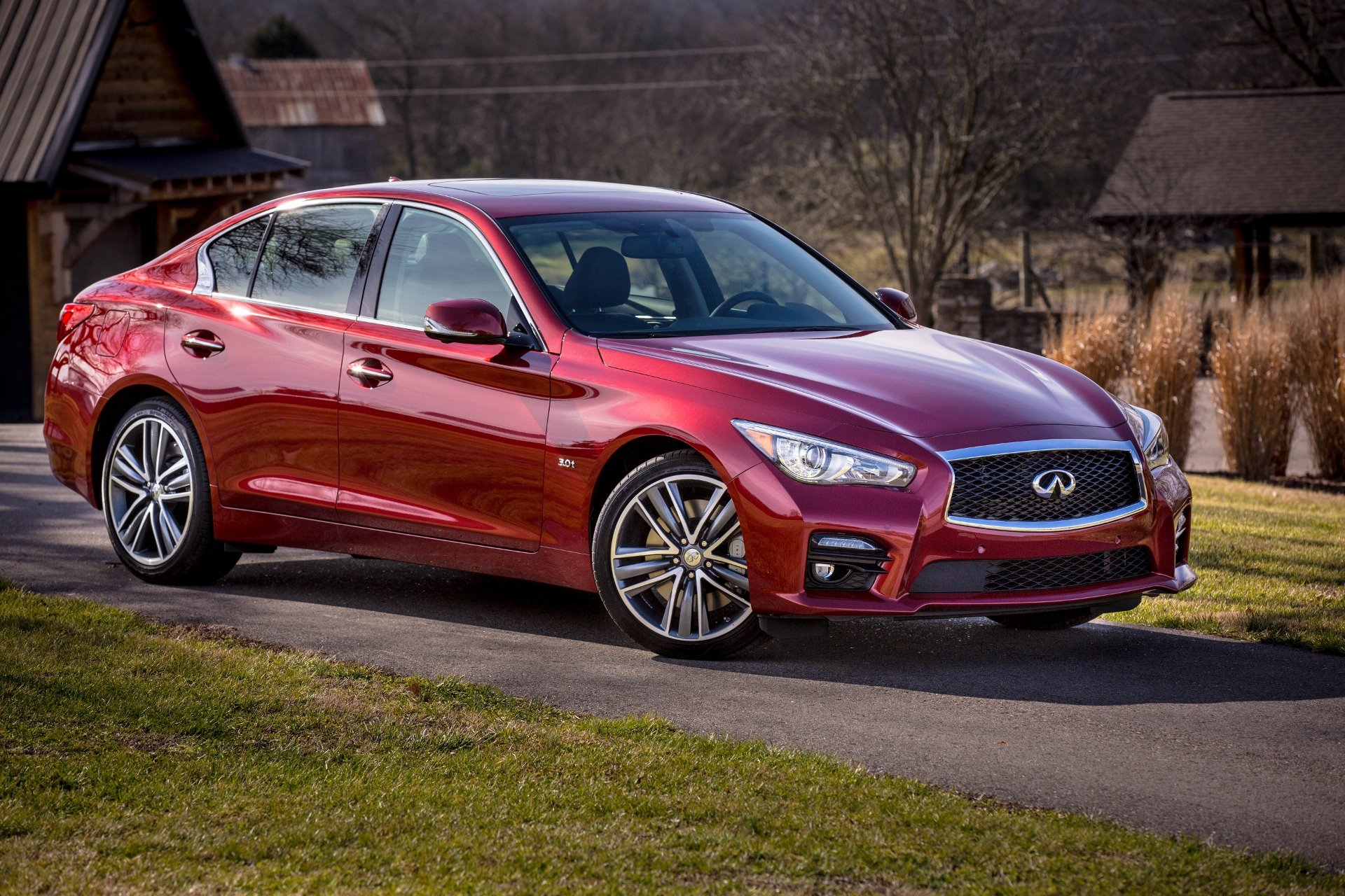 New 2019 INFINITI-Q50 Red Sport 400 Q50 Red Sport 400 for sale $53,250 at M and V Leasing in Brooklyn NY 11223 1