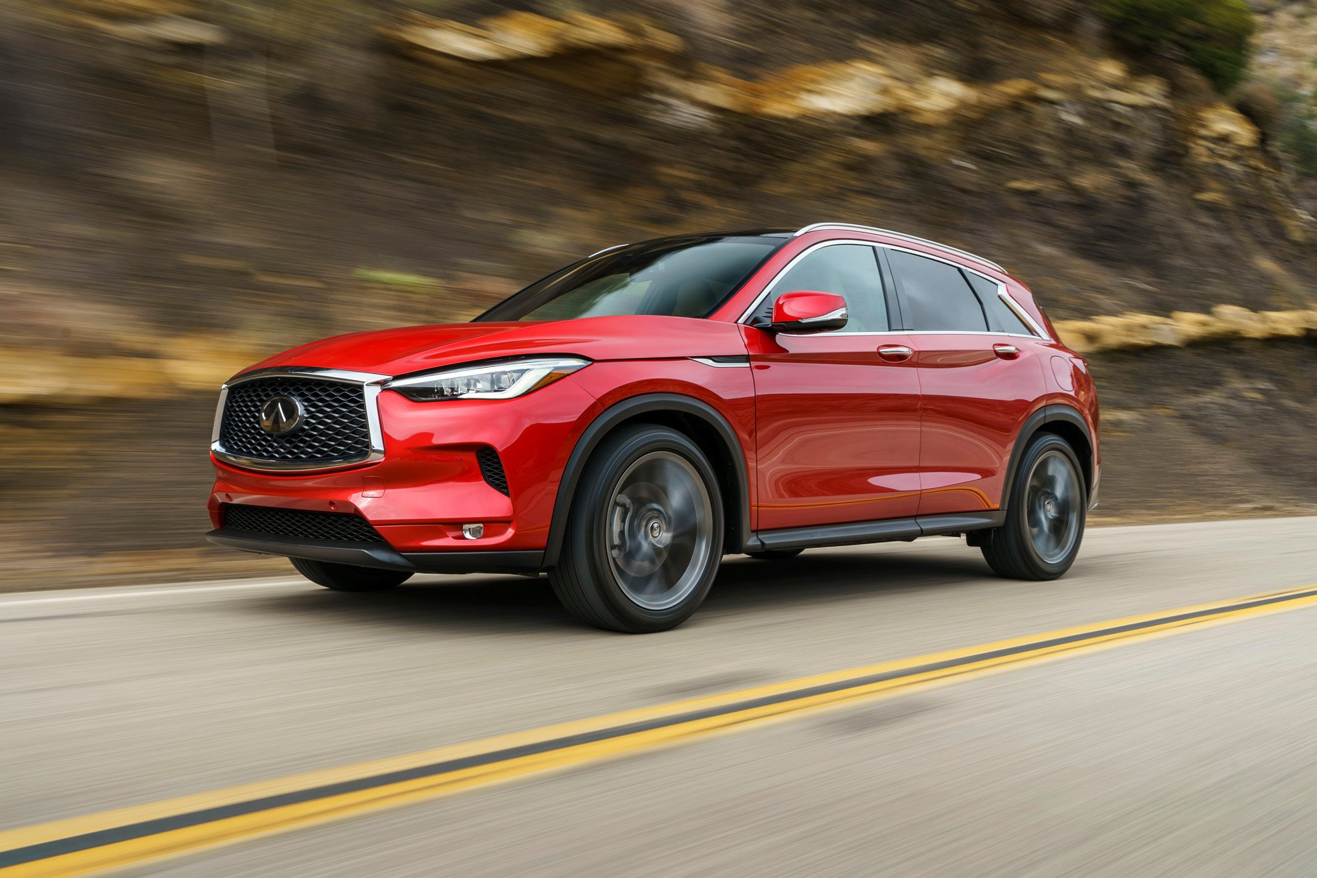 New 2019 INFINITI-QX50 Luxe QX50 Luxe for sale $39,400 at M and V Leasing in Brooklyn NY 11223 1